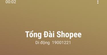 Số điện thoại tổng đài shopee