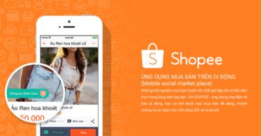 Ứng dụng Shopee mua hàng tiện lợi, nhanh chóng