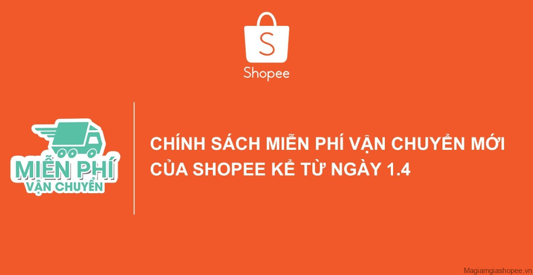 Chính sách Shopee miễn phí vận chuyển