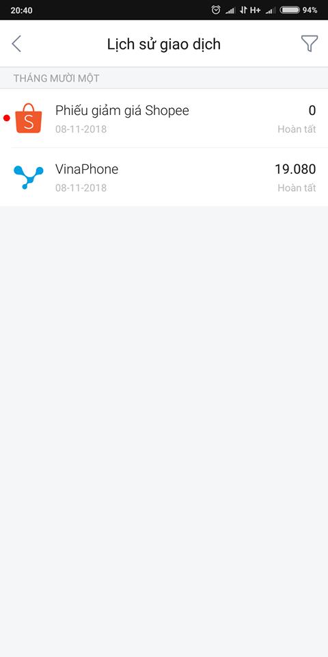 Liên kết Airpay nhận voucher shopee 111K