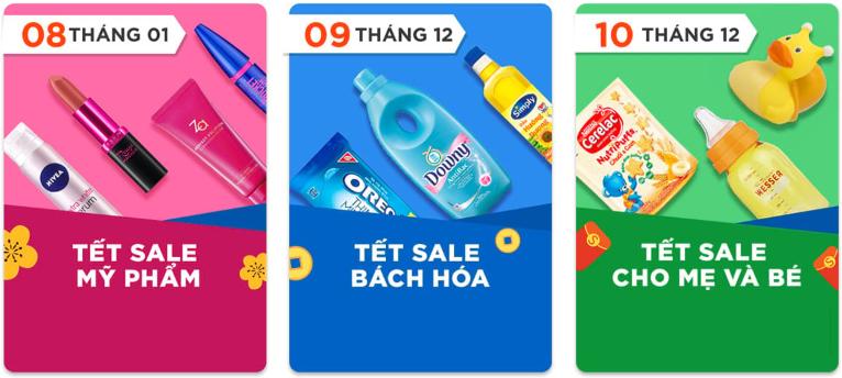 Shopee khuyến mãi Sale Tết Âm lịch 2019
