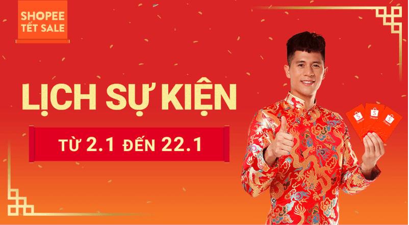 Shopee sale tết âm lịch 2019