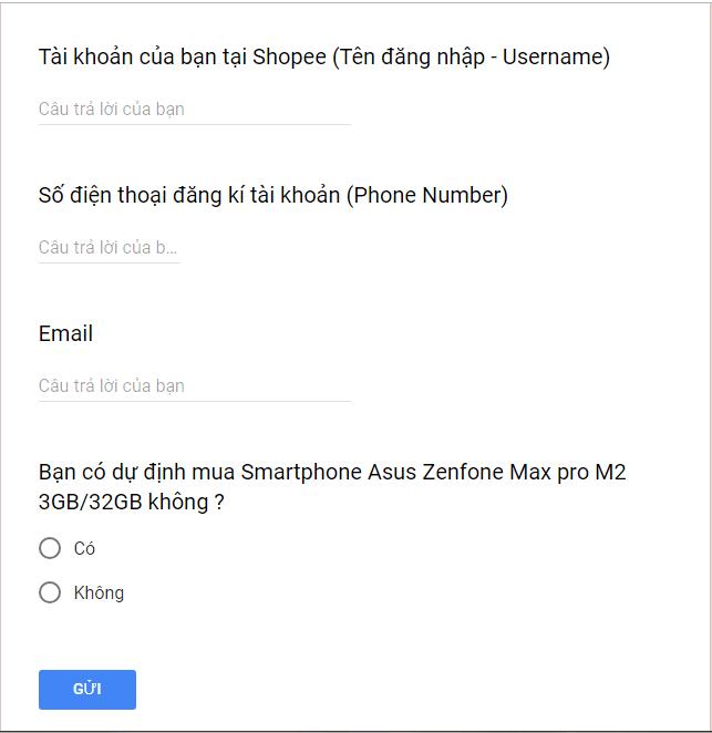 Zenfone Max Pro M2 3GB/32GB bán độc quyền trên Shopee
