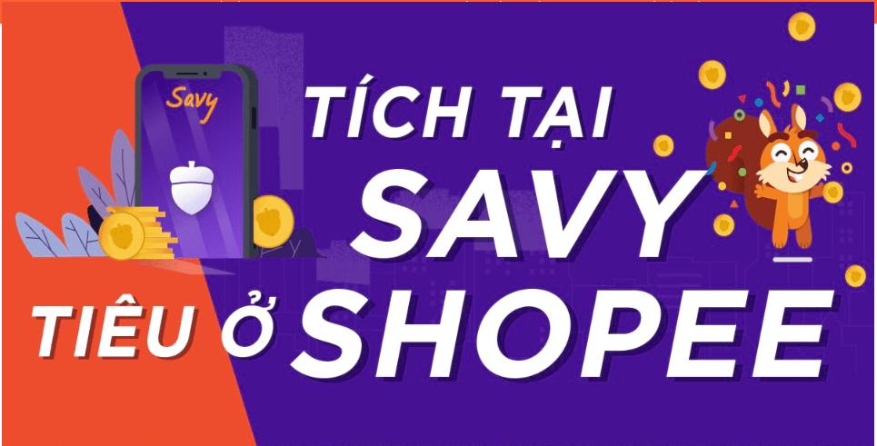 Đăng ký tài khoản mới trên Savy nhận ngay voucher shopee 50.000 đồng