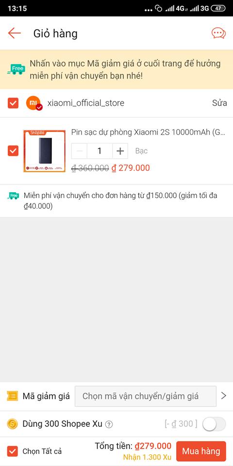 Hướng dẫn sử dụng voucher Shopee khi thanh toán bằng Airpay