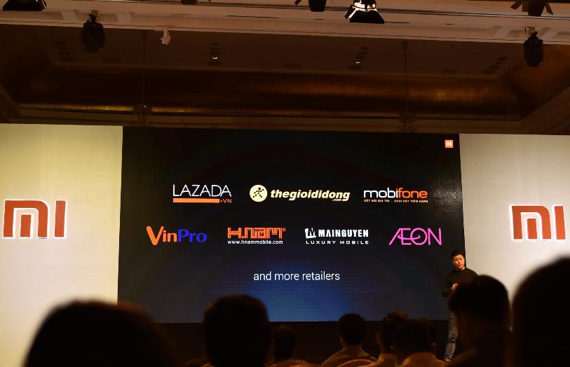 Xiaomi chính hãng được phân phối ở các hệ thống tại Việt Nam