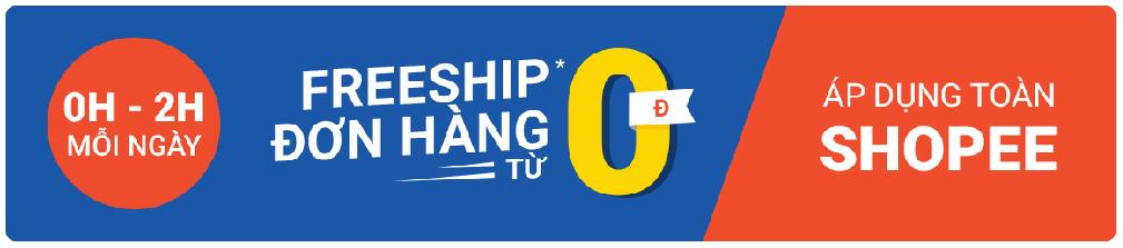 Shopee freeship 0Đ