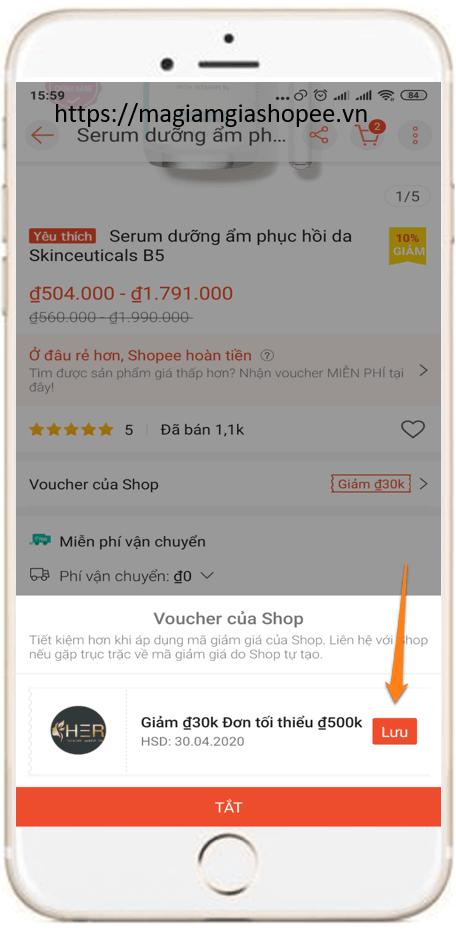 Hướng dẫn áp dụng 3 mã giảm giá Shopee