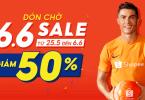 Shopee Sale Giữa Năm - Giảm Nửa Giá