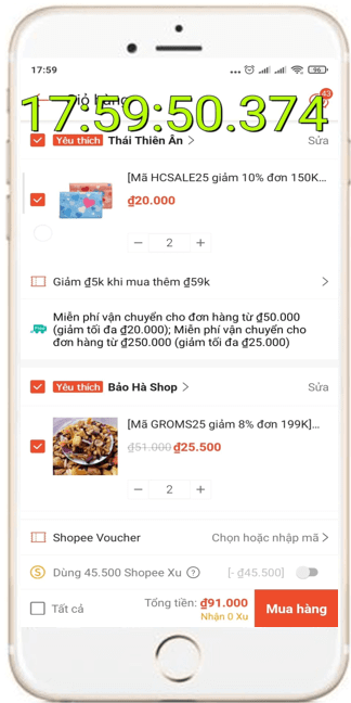 Cách săn Flash Sale Shopee