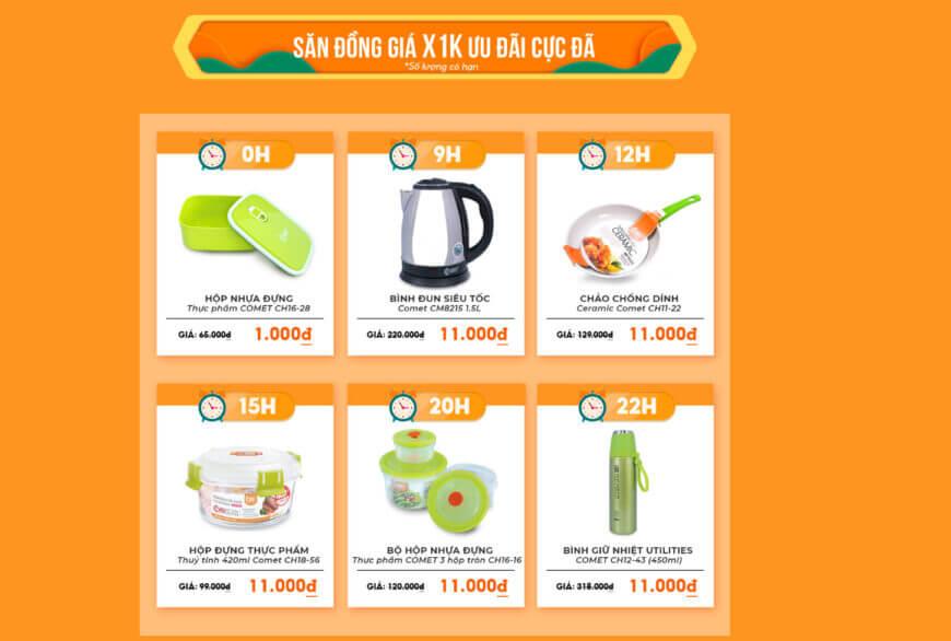 Deal Shopee giá sốc
