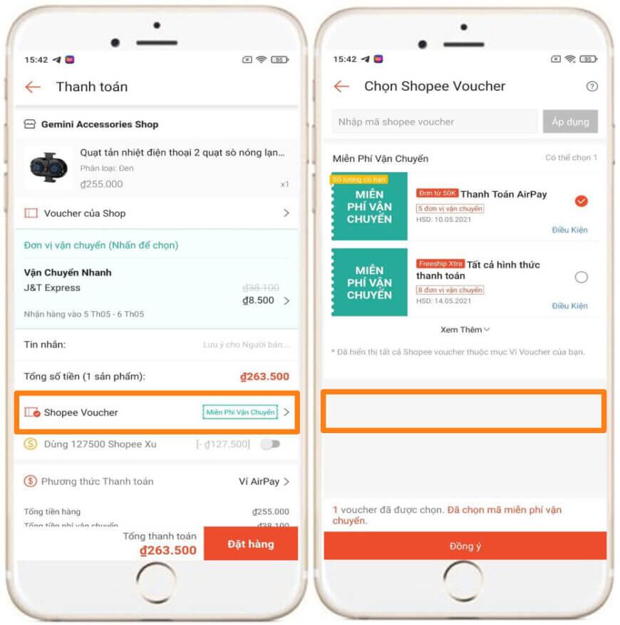 Cách dùng Auto Click săn mã live Shopee