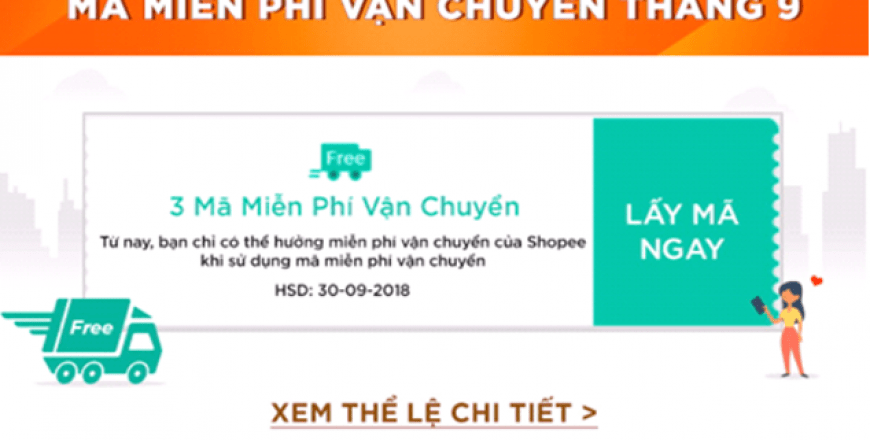 Các bước lấy mã miễn phí vận chuyển Shopee